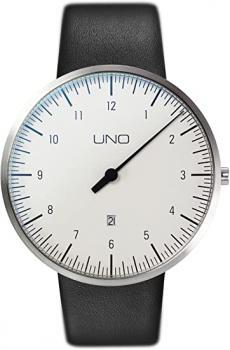 Botta Uno Quarz Weiß 44 mm