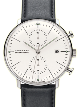 Max Bill by JUNGHANS Chronoscope 027/4600.04