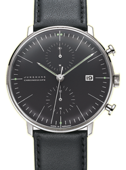Max Bill by JUNGHANS Chronoscope 027/4601.04